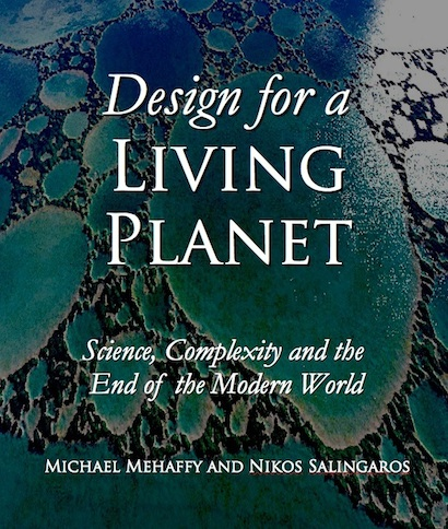 Book cover mockup - Design for a Living Planet